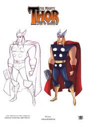 Thor Odinson by celaoxxx