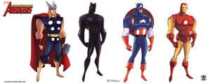 Avengers Marvel by celaoxxx