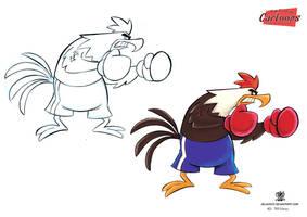 Galo Cartoon by celaoxxx
