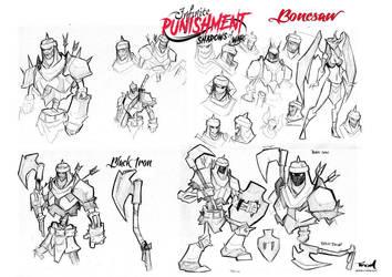 Infinite Punishment character Bonesaw by celaoxxx