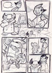 3 page skecth by celaoxxx