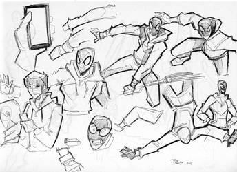 9 page sketch by celaoxxx