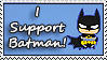 I Support Batman by pitto-stamps