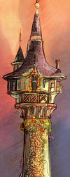 Tangled Tower - (+ Step-by-Step) by nataliebeth