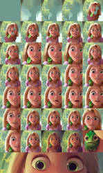 Rapunzel Painting - Step-by-Step by nataliebeth