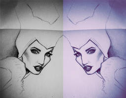 Magnificient Maleficient by nataliebeth