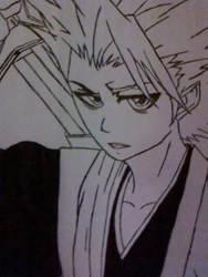Toushiro Hitsugaya by Spence1190