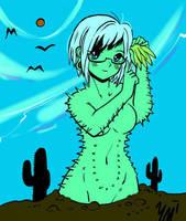 Erin the Cactus by yokomolotov