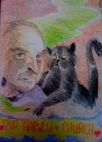 RIP Churchie and Harvey Pekar by yokomolotov