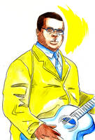 Blind Lemon Jefferson by yokomolotov