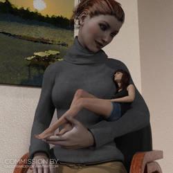 Ivana Cradled by CaddyIsRaddy