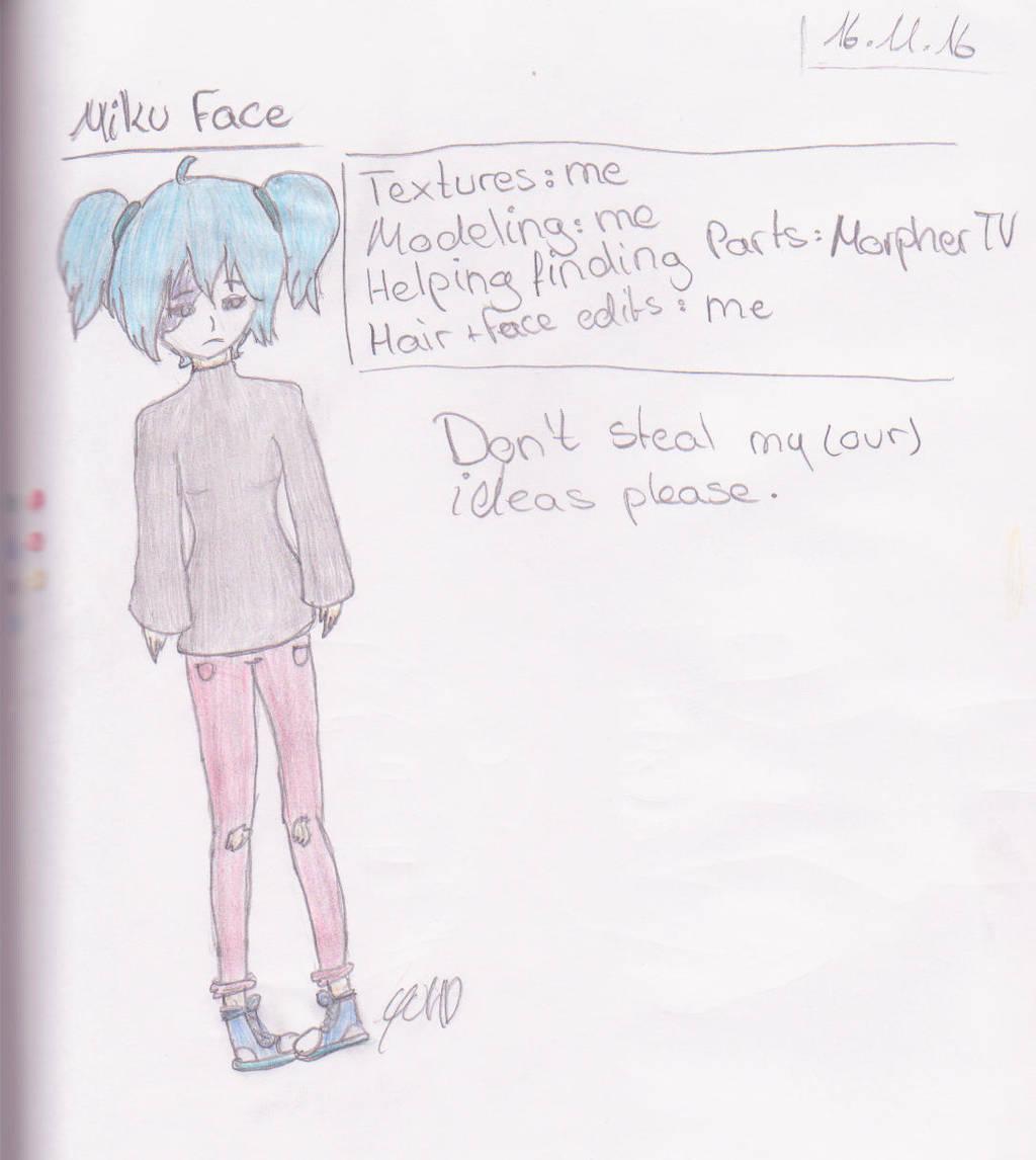 Vocaloidxsallyface Miku Face By Yuyuchanhd On Deviantart