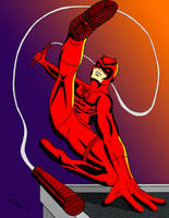 Daredevil The Man without Fear by ArtSpillGalaxy