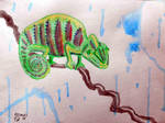 Chameleon by ArtSpillGalaxy