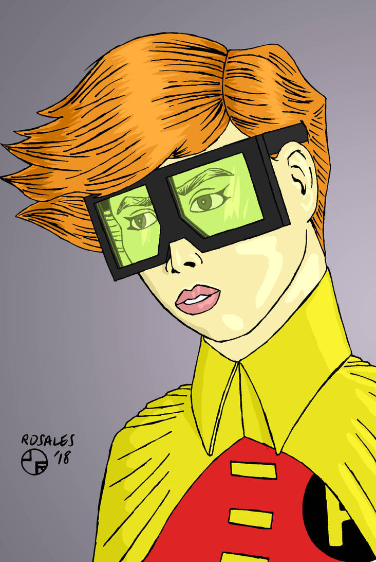 Carrie Kelley by ArtSpillGalaxy