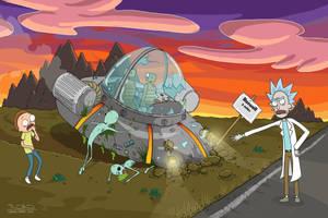 The Roswell crash.... by DanielHurd