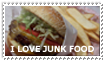 I love junk food stamp by JAYSMILES23