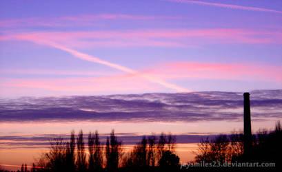 Colourful Sky by JAYSMILES23