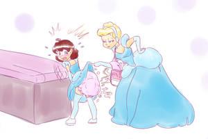Cindy Checks Her Little Princess by LilPrincessMorgan