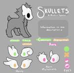 Skullet Species Sheet by CaptnElle