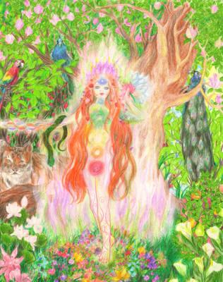 Goddess Manifest by RebeccaTripp