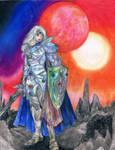 Cecil in Crystal Armor by RebeccaTripp