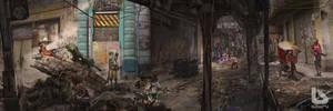 Babiru 38 favela streets by duster132