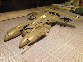 Jet Fighter kitbash by duster132