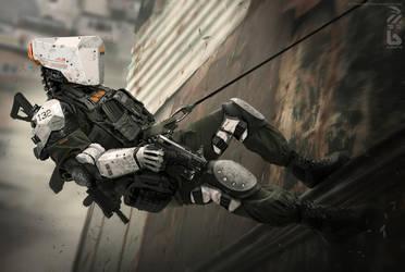 Babiru SWAT. by duster132