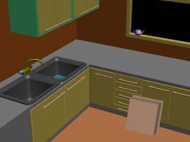 Kitchen by fj-garcia
