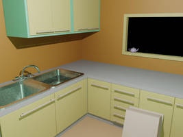 Kitchen 2 by fj-garcia
