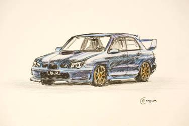 2006 Subaru Impreza WRX by CCCanyon