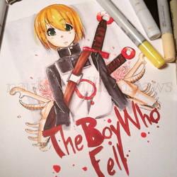 The Boy Who Fell by NauticaWilliams