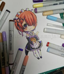 Chibi Ram by NauticaWilliams