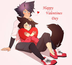 Valentines- Sethlena by LuckyCessy