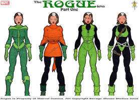 Rogue Series: Part One by SavageMouse