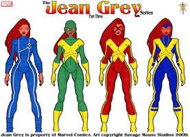 Jean Grey Series: Part Three by SavageMouse