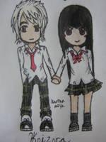 Koizora- Hiro and Mika by Hyper-Sugar-Fairy
