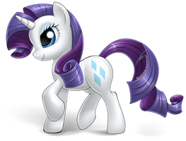 Rarity - FiM by BionicleGahlok