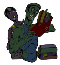 Zombie Reading - FLATS by SRScribe