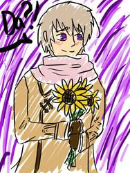 Simple Sunflower by veroveroable