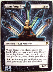 Stoneforge Mystic 201301 by KERsMTGAlters