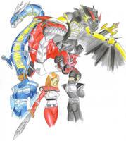 The Dragon Knights. by ChaosGhidorah
