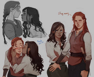 Kiena and Ava by lesly-oh