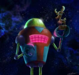 Robot Randy by cinemamind