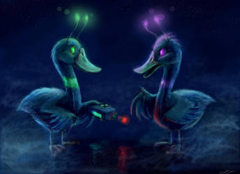 Duck brothers by cinemamind