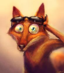 Cajun fox by cinemamind