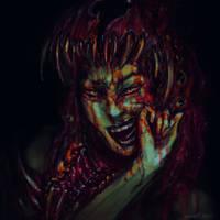 Devil Head 1 by cinemamind