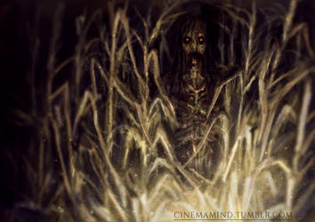 Cornfield Horror by cinemamind
