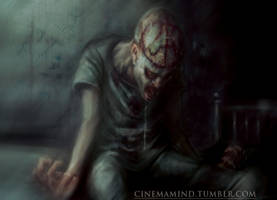 Lobotomized Patient by cinemamind
